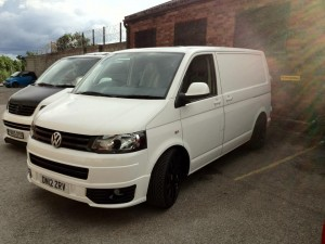 VW T5 Wheels & Coilovers